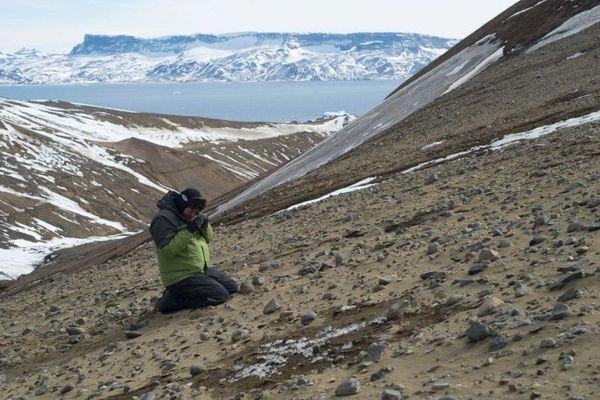 chercheur antarctique