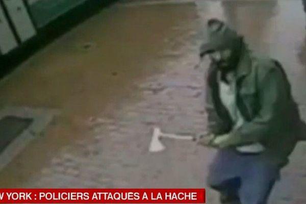 New-York : des policiers attaqués à la hache par un pro-jihad