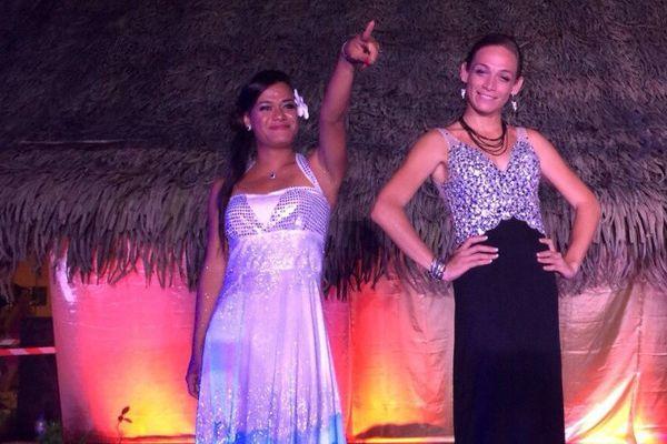 Les candidates à l'élection Miss Vahine Tane 2016