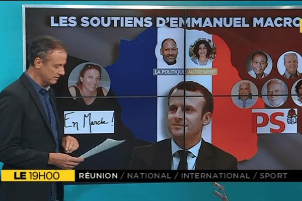Le+, soutiens d'Emmanuel Macron à La Réunion