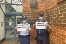 Les policiers de NSW ont un message, post Facebook du 12 juillet.