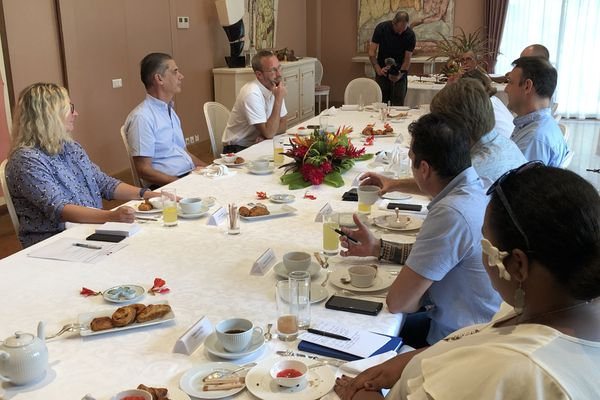 Les voeux à la presse du haut-commissaire Dominique Sorain