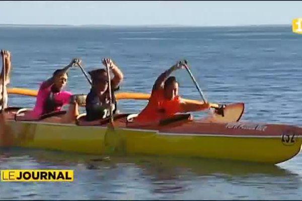 Un seul équipage féminin participera au marathonVA'A Polynésie 1ère