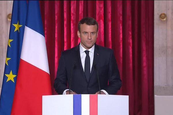Allocution Président Macron Elysée