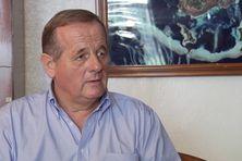 Le Préfet Marcel Renouf pendant l'entretien avec l'équipe de Wallis et Futuna 1ère