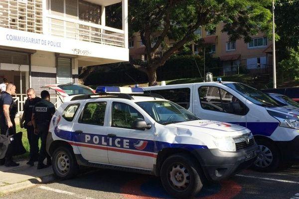 police de sécurité du quotidien, groupe de sécurité de proximité à la cité Pierre-Lenquette, 19 septembre 2018