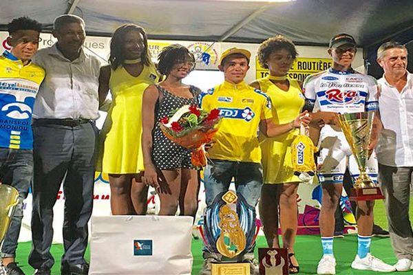 Tour de Martinique : podium récompenses