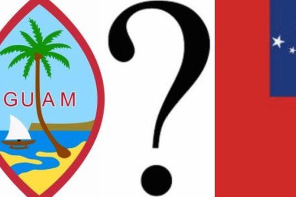 Dessin Guam contre Samoa