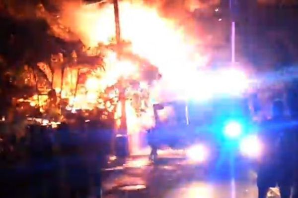 Incendie Saint-Leu