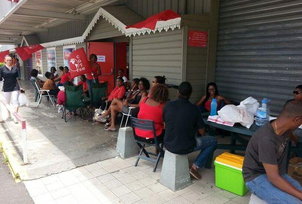 Grève carrefour market