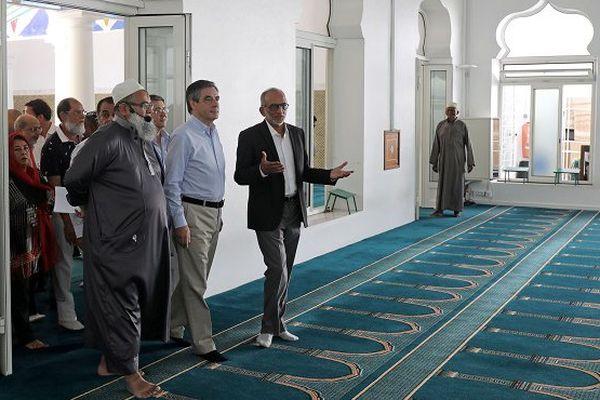 Fillon mosquée Saint-Denis