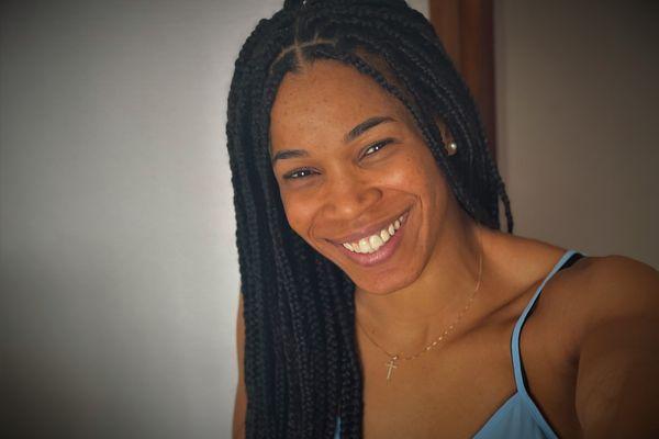 La basketteuse martiniquaise Marielle Amant.