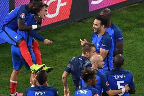 Victoire de la France en 1/2 finale de l'Euro 2016