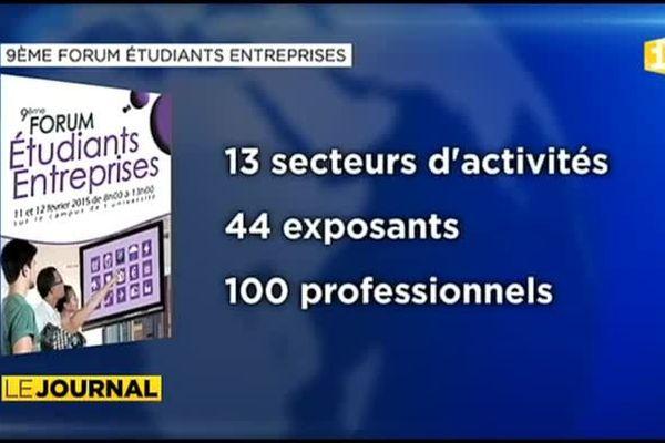 Neuvième rencontre étudiants / entreprises à l'université