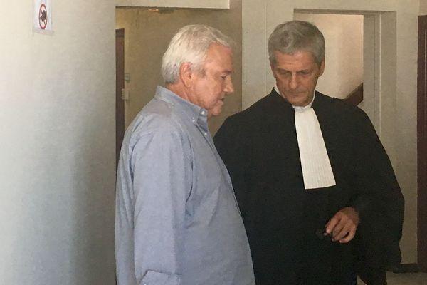 Procès en appel des terrains de Païta, Harold Martin et son avocat maître Philippe Reuter, 9 octobre 2018
