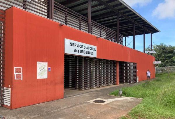 Service des urgences de l'hôpital de Cayenne