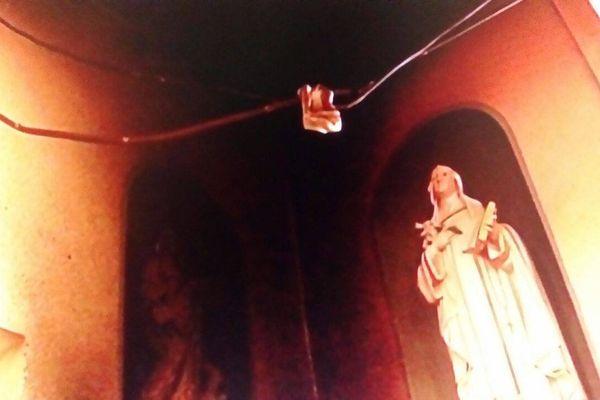 Tentative d'incendie à l'église du Carnel 2
