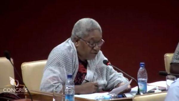 Congrès, école James-Cook, déclaration d'Ithupane Tieoue