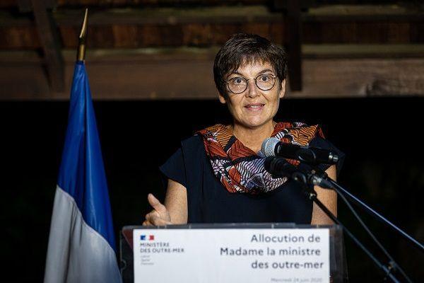 Annick Girardin le 24 juin à Cayenne