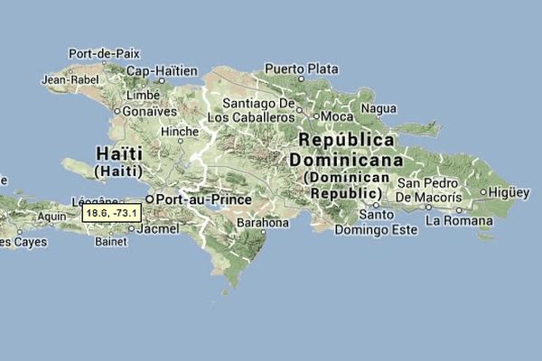carte république de st domingue