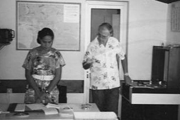 Lusia Kavakava à FR3 Wallis et Futuna