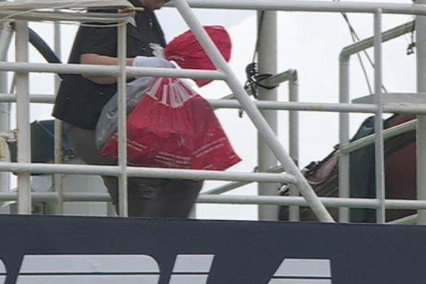 Au moins 200 kg de drogue saisis sur un bateau