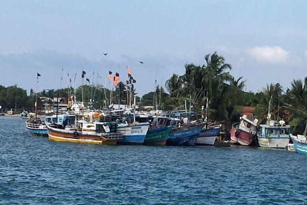 Sri Lanka bateaux