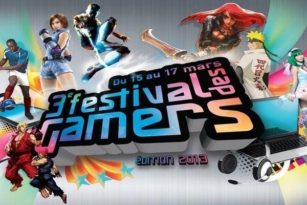 Affiche 3ème festival des gamers