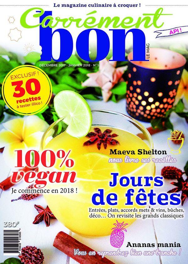un nouveau magazine culinaire