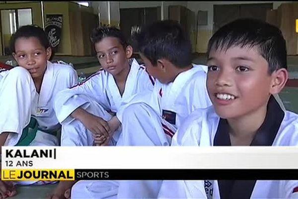 Kalani Chantour au championnat du monde de taekwendo