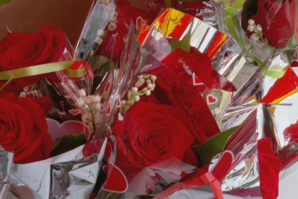 Rose et Muguets