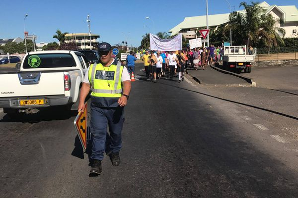 Marche contre la violence