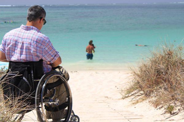 Handicap plage