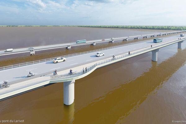 Le projet du doublement du pont du Larivot