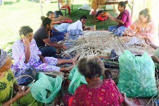Résidence culturelle à Tiwaka, août 2019