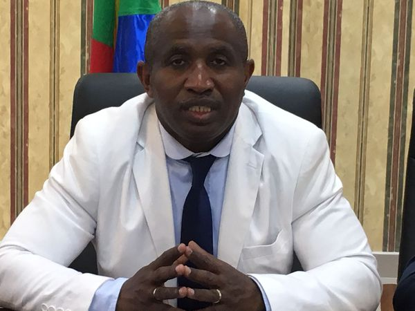 Le ministre de l'intérieur comorien Mohamed Daoudou
