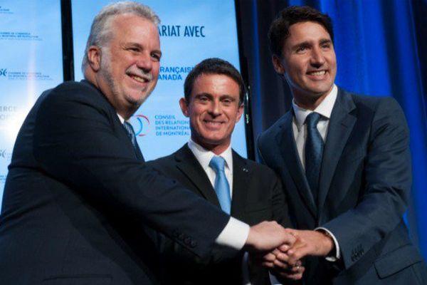 Libre échange, terrorisme : la suite de la visite de Manuel Valls au Canada