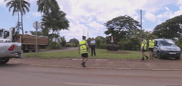 contrôles de gendarmerie avant la Sylvestre