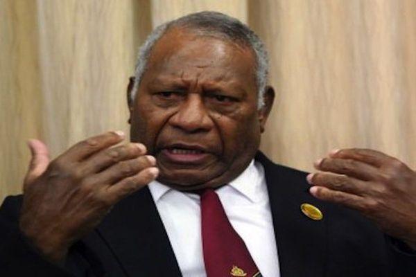 Le président du Vanuatu, Baldwin Lonsdale
