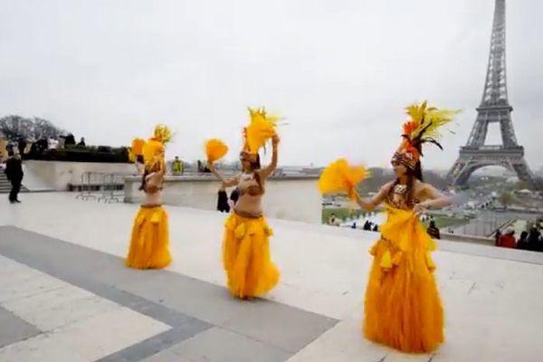 Soutien Miss Tahiti