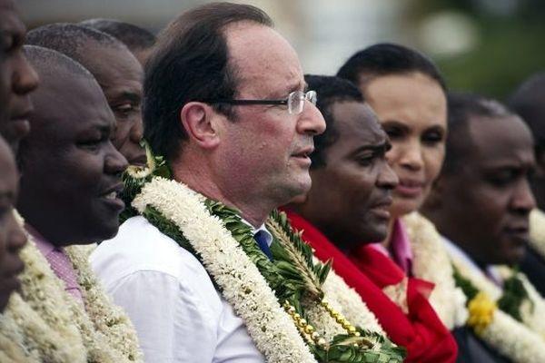 François Hollande à Mayotte mars 2012
