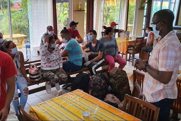 Arrivée illégale de 18 cubains à Sinnamary