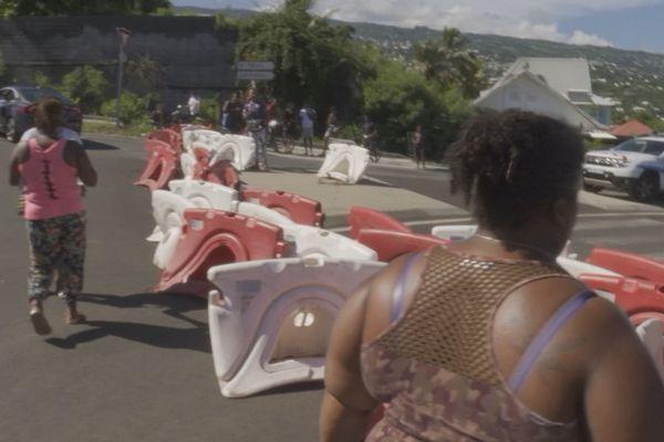 Manifestation inondations Plaine Saint-Paul