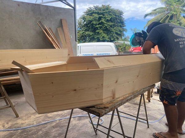 Fabrication cercueils