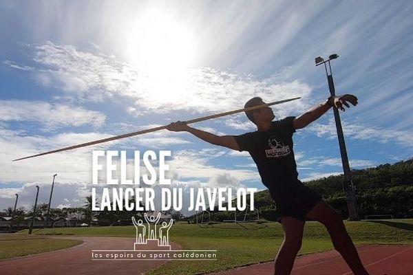 Les espoirs du sport calédonien : Felise Vahai Sosaia sur une belle lancée en athlétisme
