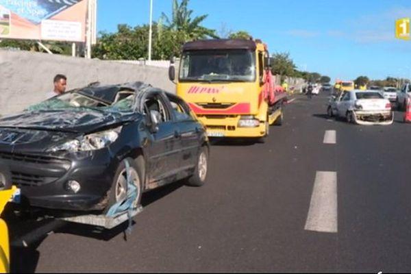 Accident grave Sainte-Marie 9 septembre 2017