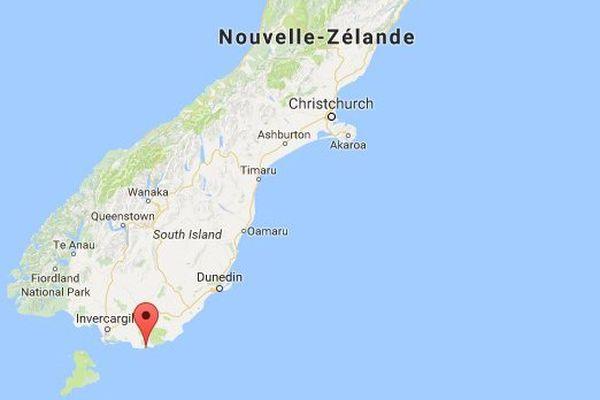 L'accident s'est produit à la pointe australe de l'île du sud