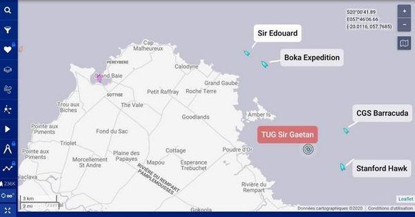 Carte du Nord Est de Maurice