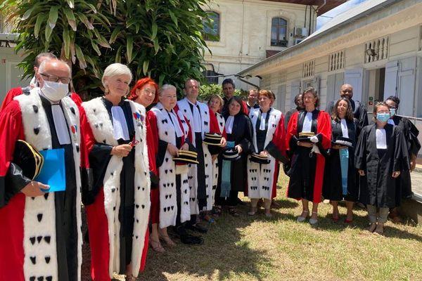 Les magistrats de Guyane