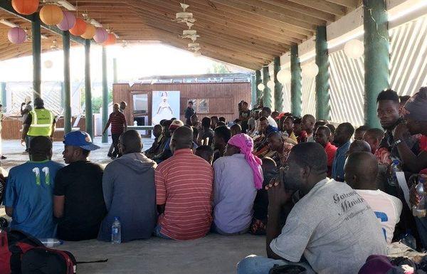 Migrants haïtiens